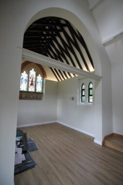 Bagshot Chapel, Stype (7)